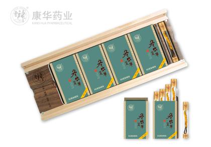 冬虫夏草-净草特级5.12g(1.28g×4盒)(可直接服用)